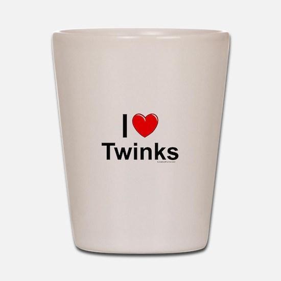 Twinks Shot Glass