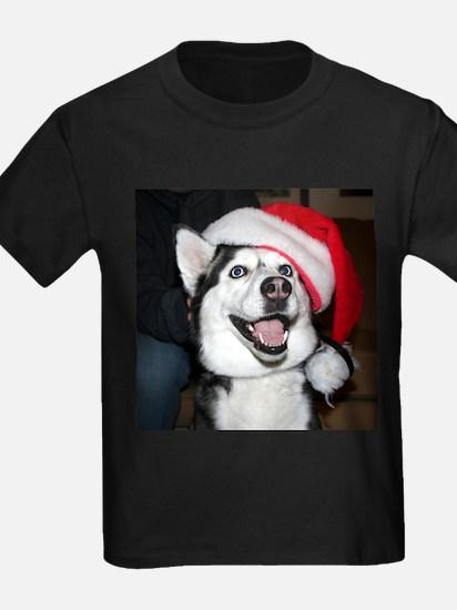 Christmas Husky T-Shirt