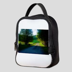 Brant Lake, NY Neoprene Lunch Bag