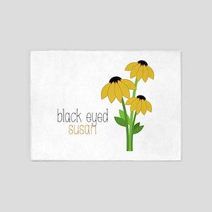 Black-Eyed Susan 5'x7'Area Rug