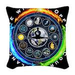 Balance Force Woven Throw Pillow