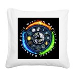 Balance Force Square Canvas Pillow
