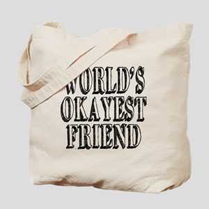 World's Okayest Coworker Tote Bag
