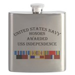 USS Independence Flask