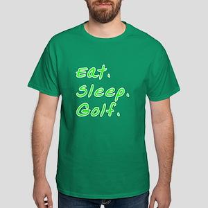 Eat. Sleep. Golf. - Dark T-Shirt