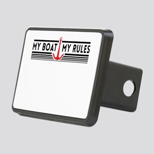 My boat my rules Hitch Cover