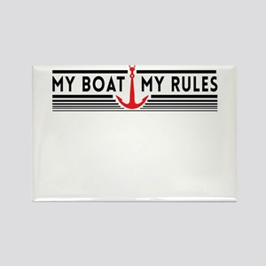 My boat my rules Magnets