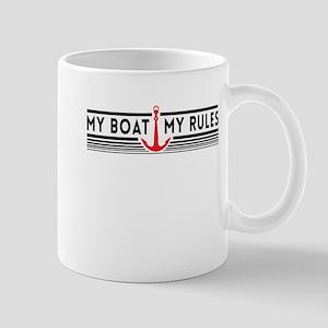 My boat my rules Mugs