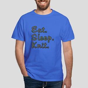Eat. Sleep. Knit - Dark T-Shirt