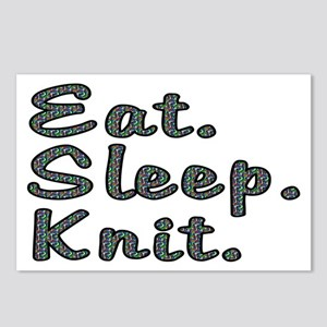 Eat. Sleep. Knit - Postcards (Package of 8)