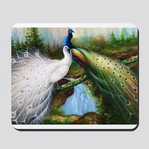 peacocks Mousepad