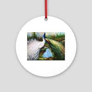 peacocks Ornament (Round)