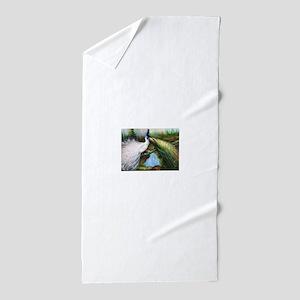 peacocks Beach Towel
