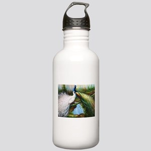 peacocks Stainless Water Bottle 1.0L