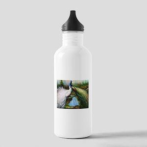peacocks Stainless Water Bottle 1.0L