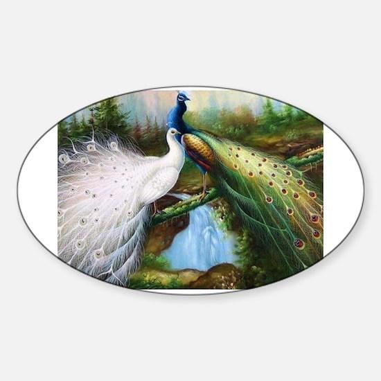 peacocks Decal