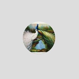 peacocks Mini Button