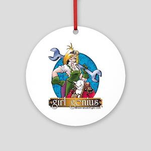 Girl Genius Ornament (round)