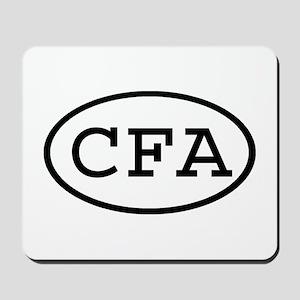 CFA Oval Mousepad
