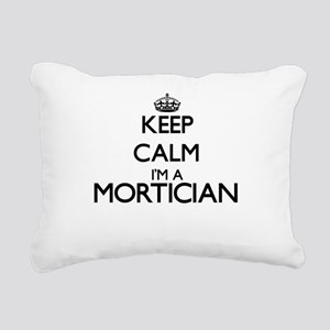 Keep calm I'm a Morticia Rectangular Canvas Pillow