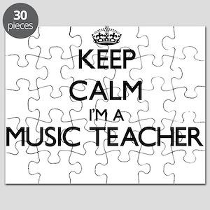Keep calm I'm a Music Teacher Puzzle