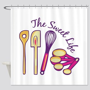 Sweet Life Shower Curtain