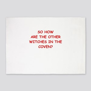 witches 5'x7'Area Rug