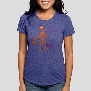 Oh, Snap Skeleton Womens Tri-blend T-Shirt