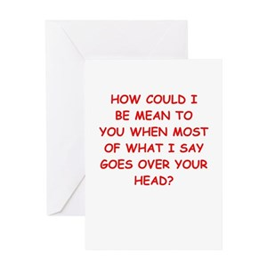 Insulting greeting cards cafepress m4hsunfo