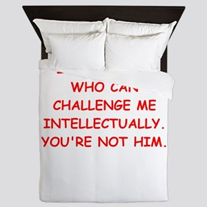 intellectual Queen Duvet