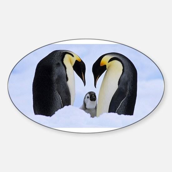 emperor penguins Decal
