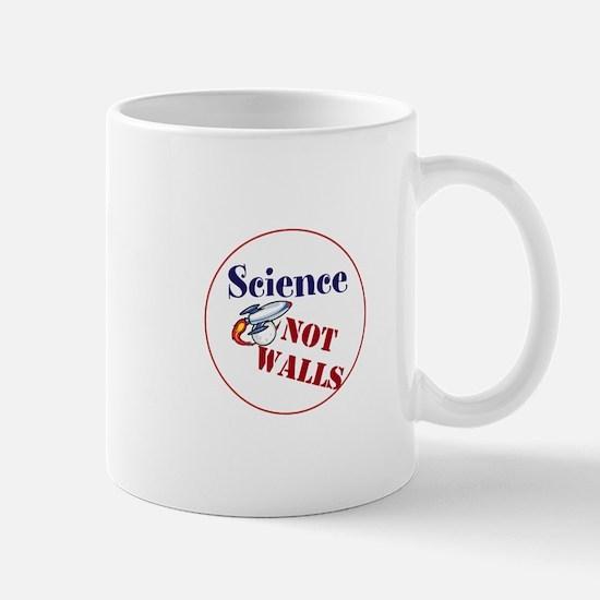 Science Not Walls, Mugs
