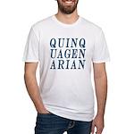 Quinquagenarian, 50 Fitted T-Shirt