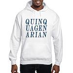 Quinquagenarian, 50 Hooded Sweatshirt