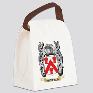 Sheffield Coat of Arms - Family C Canvas Lunch Bag