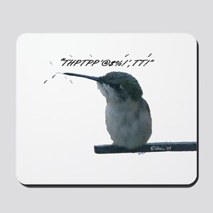 Hummingbird With Attitude Mousepad