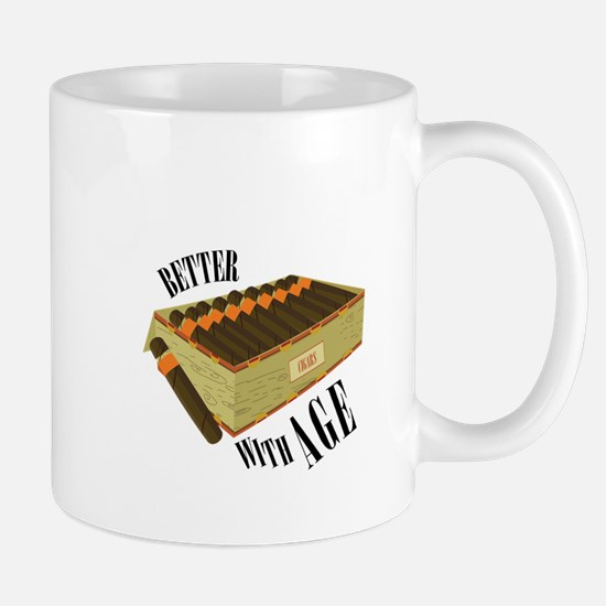 Better With Age Mugs