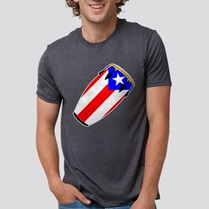 Conga Puerto Rico Flag T-Shirt
