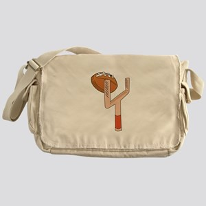 Football Post Messenger Bag