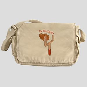 Tis The Season Messenger Bag