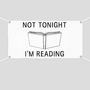 Not tonight I'm reading Banner