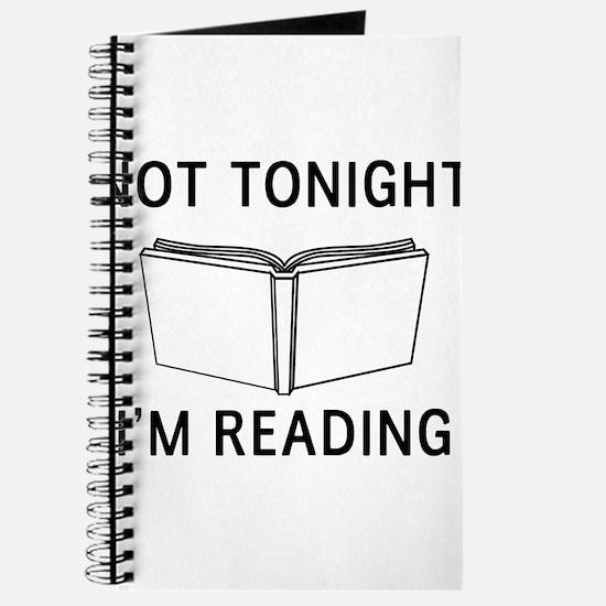 Not tonight I'm reading Journal