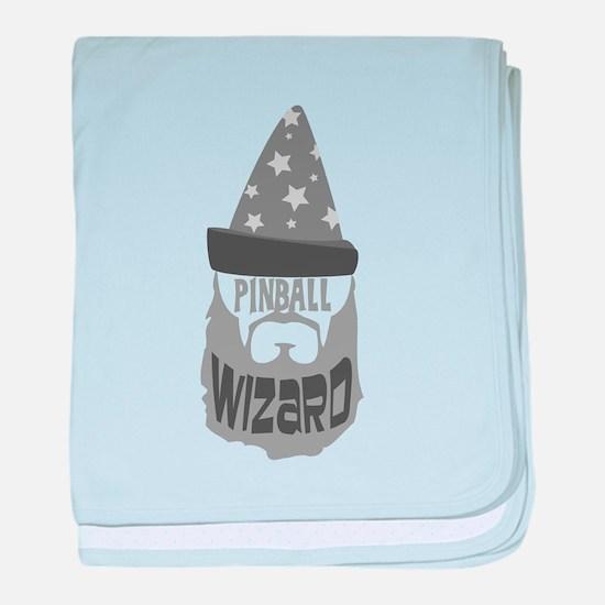 pinball wizard baby blanket