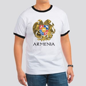 Armenian Coat of Arms Ringer T