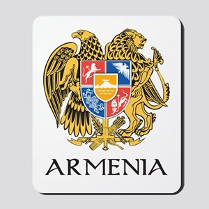 Armenian Coat of Arms Mousepad