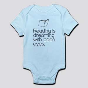 Reading is dreaming with open eyes. Body Suit