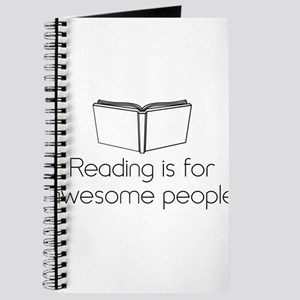 Reading is for awesome people Journal