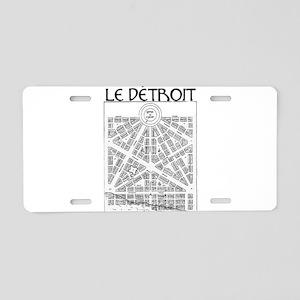 ledetroit Aluminum License Plate