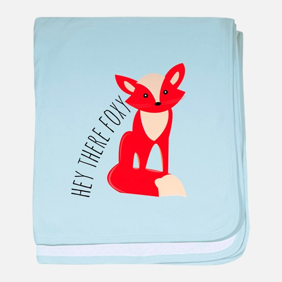 Hey There Foxy baby blanket