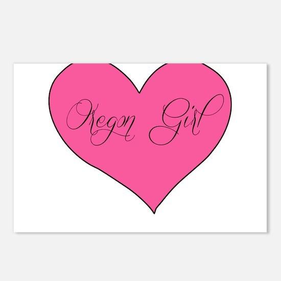 oregon girl Postcards (Package of 8)
